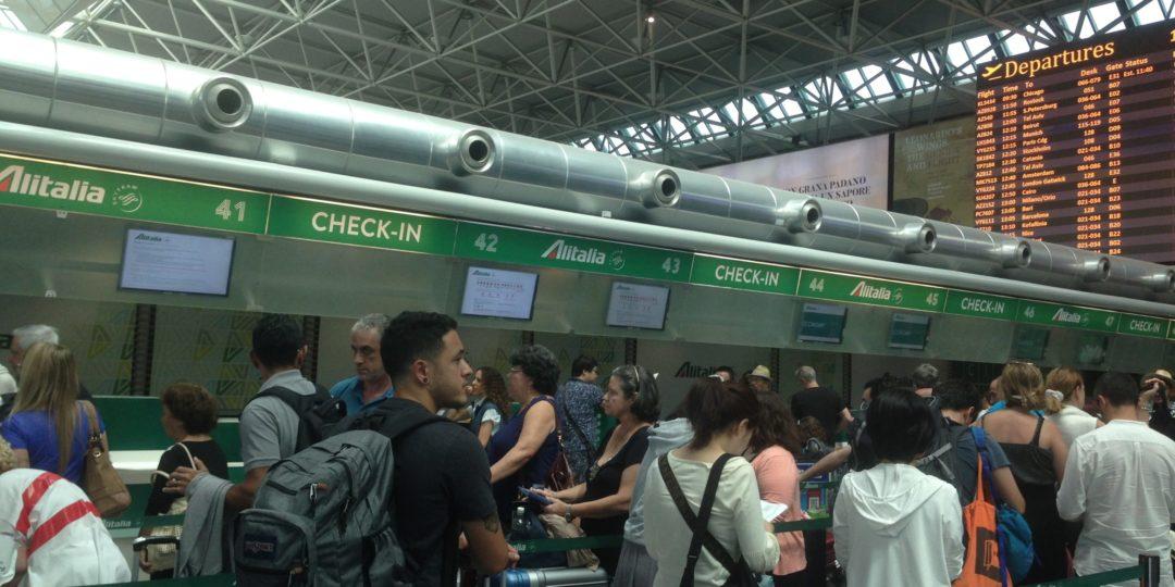 bagaglio da imbarcare stiva Alitalia regole limitazioni rimborso