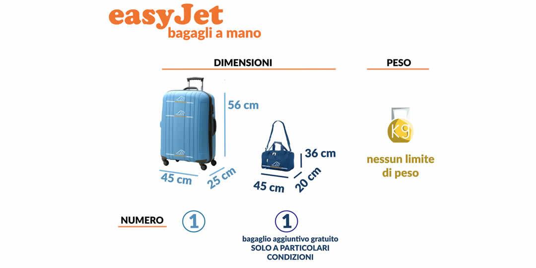 easyJet bagaglio a mano