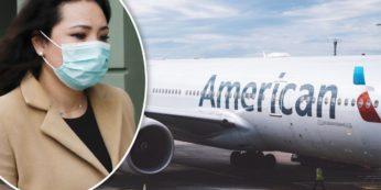 Coronavirus American Airlines voli sospesi milano malpensa roma fiumicino