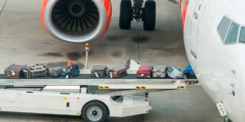 tragitto bagaglio aeroporto