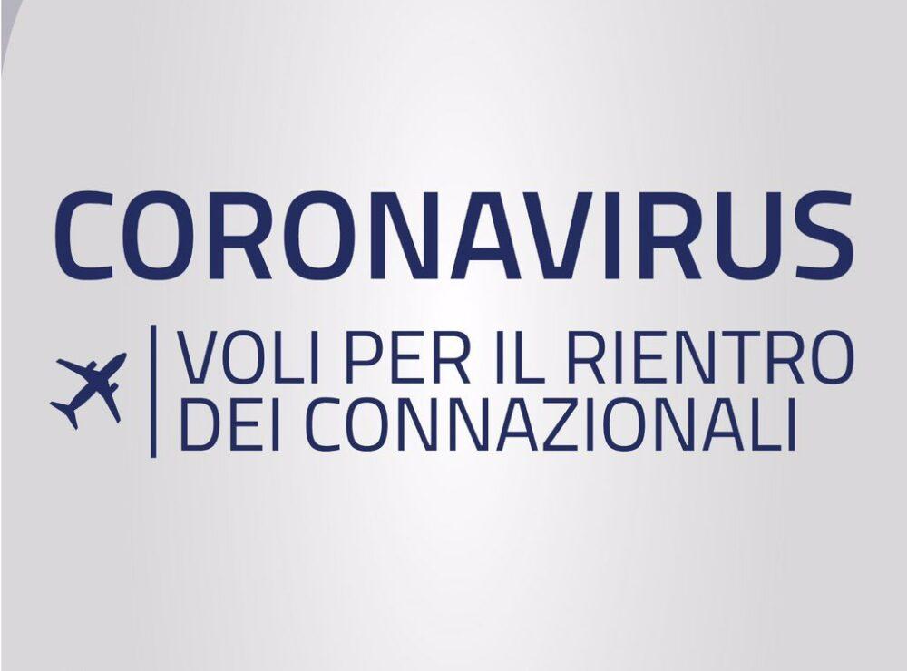 I voli per rimpatrio di Alitalia ai tempi del Coronavirus